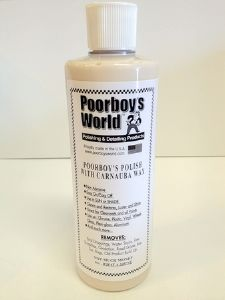 Poorboy's World Polish with Carnauba